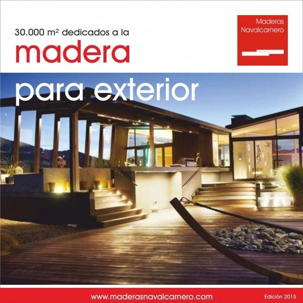 Catálogo de Madera Exterior