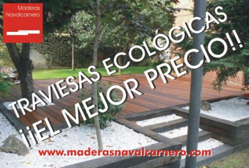 TRAVIESAS ECOLÓGICAS DE MADERA PARA EXTERIORES Y JARDINES
