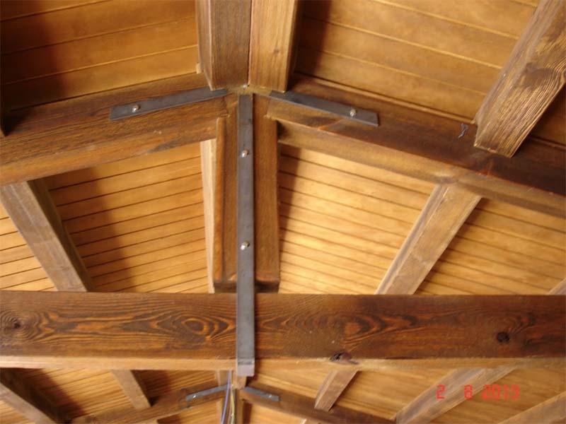 Herraje para vigas y madera exterior